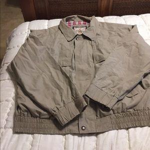 Wrangler outerwear tan coat size XXL